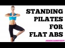 Standing Pilates for Flat Abs 12 Minute Bodyweight Only Workout