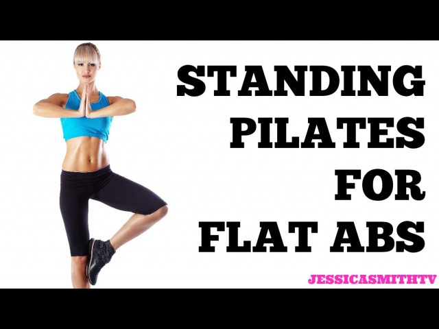Standing Pilates for Flat Abs 12-Minute Bodyweight Only Workout