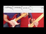 With The Flow - Vinnie Moore cover, with COMPLETE tablature