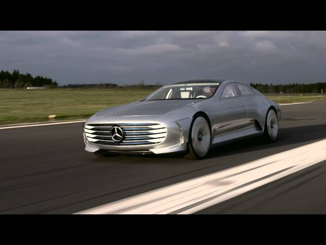 Mercedes-Benz IAA Concept - Driving Scenes at Airport Siegerland (Germany)
