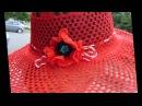 Летние кружевные шляпы для женщин Схемы вязания крючком