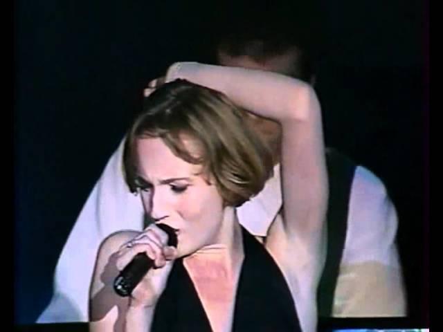 Patricia Kaas - Mademoiselle chante le blues. Carnets de Scène. Moscow 1991