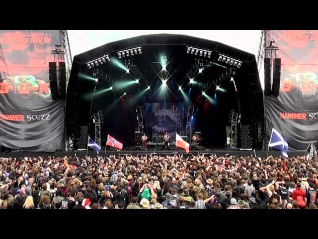 Ensiferum Live at Bloodstock Open Air 2010 - From Afar