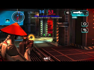 Shadowgun Deadzone: Laggy Venom Vs 2 N3OK and 1 *RR* with an Epic Ending! (Sniper Only)