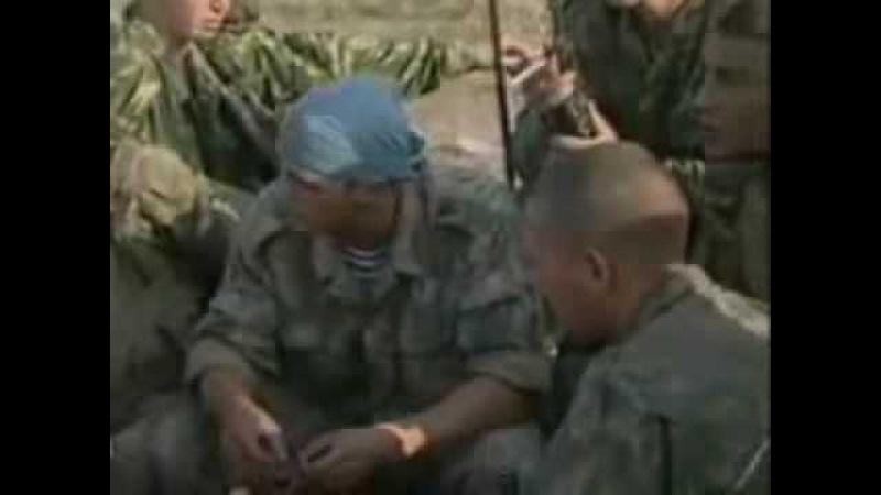 Second chechn company batle in Dagestan 1999
