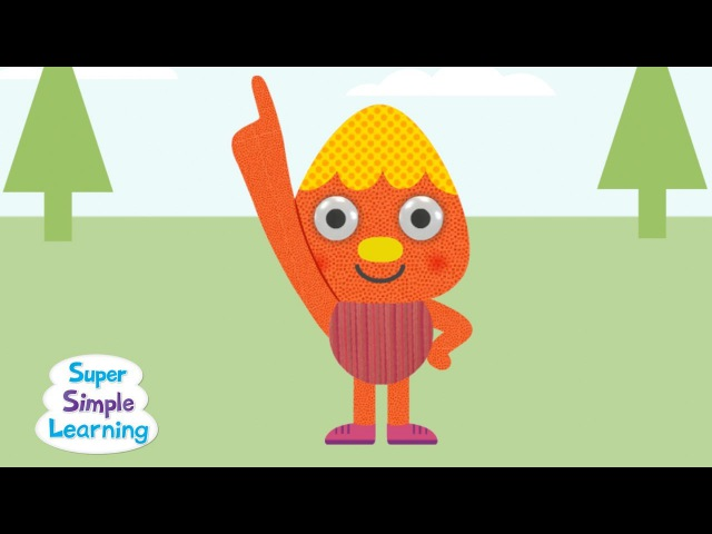 One Little Finger | featuring Noodle Pals | Super Simple Songs