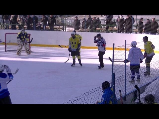 Хоккей. ХК Сумы 5:6 ХК Дружба 20.02.2016 | HighSportLive | HSL