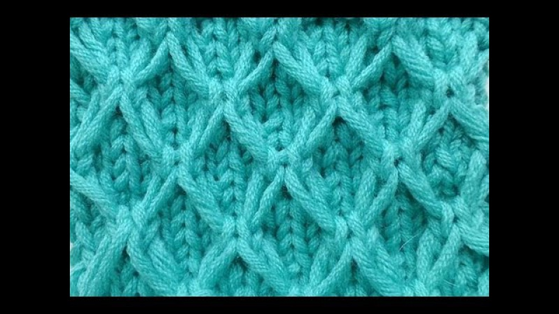 Knit with eliZZZa * Mesh pattern with Slip Stitches * Knitting Stitch