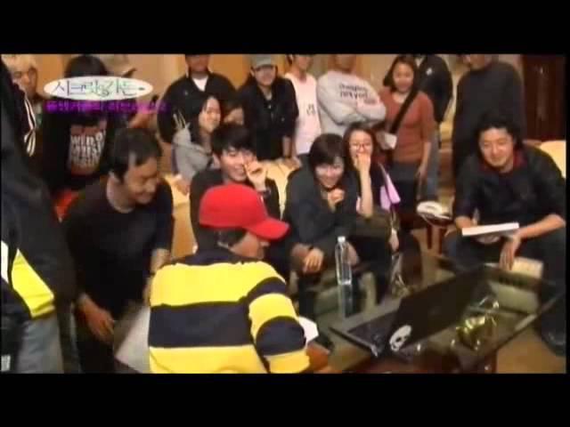 Hyun Bin - Ha Ji Won behind the scene 12