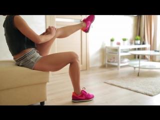 Упражнения для стройных коленей [Workout _ Будь в форме]