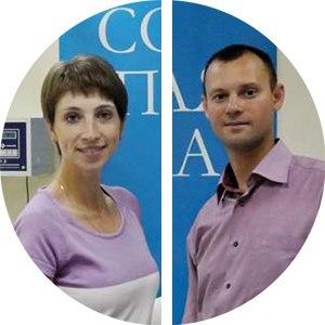 Наталья и Роман Цаловы