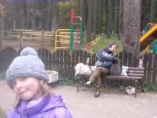прогулка-люди! пони !кролики!лес!