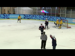 Ice Hockey - Womens Preliminaries - SWE vs SVK _ Lillehammer 2016 Youth Olympic Games
