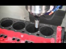 Combo 5-axis CNC Cylinder Head Block Machining center: The CENTROID A560 Port/Block