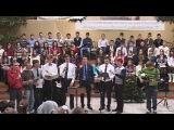 НОВАЯ ЗЕМЛЯ,МОЛОДЕЖЬ ГОРОДА МАРИУПОЛЯ, В ЦЕРКВИ ХРИСТА СПАСИТЕЛЯ,18.01.2015. http://youtu.be/pC3G3LbLsCQ