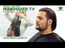Мужская стрижка на длинных волосах. Long Men's Haircut парикмахер тв parikmaxer