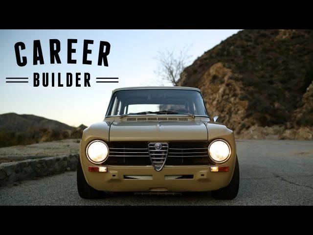 He Built This Alfa Romeo Giulia, It Built His Career