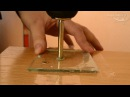 Как просверлить стекло? Сверление стекла в домашних условиях. Видео-урок от ReptoMir-TV