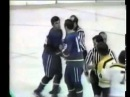 Vancouver Canucks at Boston Bruins March 2 1972 Bobby Orr Fight
