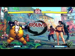 OPSS 3 (17.01.15) USF4 Loosers Anju (Rufus) vs flcl (Poison)