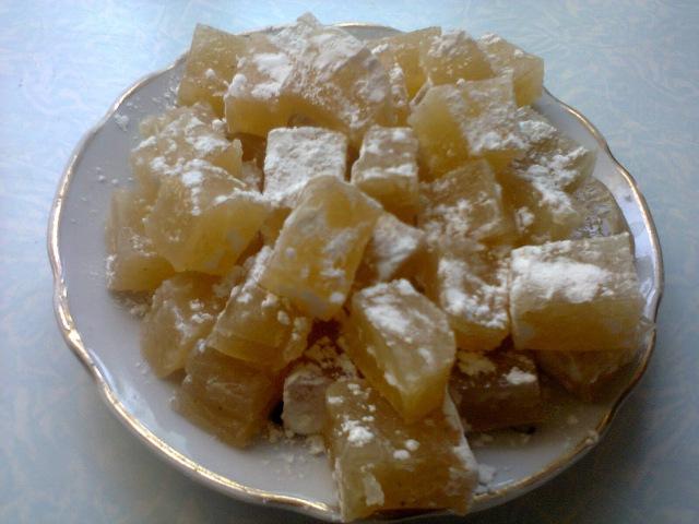 Восточное лакомство Рахат-лукум. Eastern delicacy Turkish Delight.