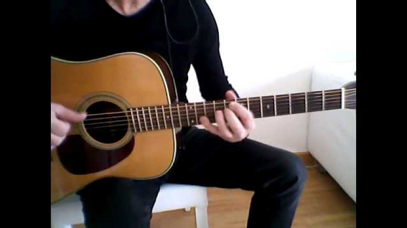 Pink Floyd – Shine On You Crazy Diamond (guitar cover by Guido Mancino)