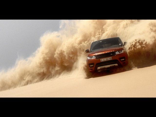 Принц персии или покорение пустыни All New Range Rover Sport Empty Quarter Driven Challenge Documentary