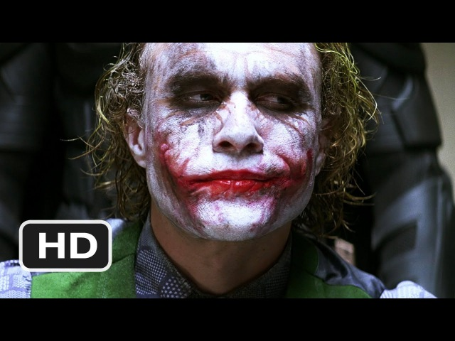 Good Cop Bat Cop The Dark Knight 5 9 Movie CLIP 2008 HD