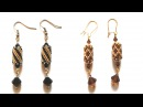 Beading4perfectionists Odd Peyote earrings read design with graph paper
