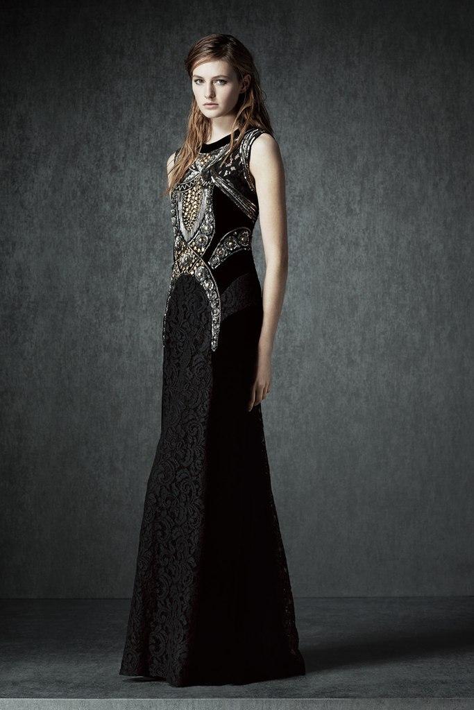 альберта ферретти роскошное платье в пол 2015/2016