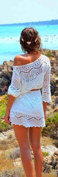棒针连衣裙(117) - 柳芯飘雪 - 柳芯飘雪的博客