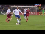 Третий гол Криштиану в матче с Арменией