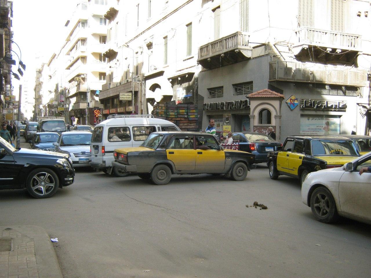 Хаос на улицах Египта