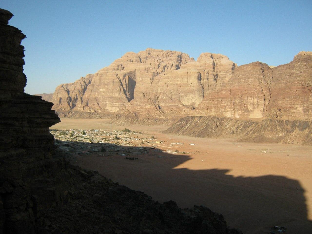 Село Рам в Вади Рам