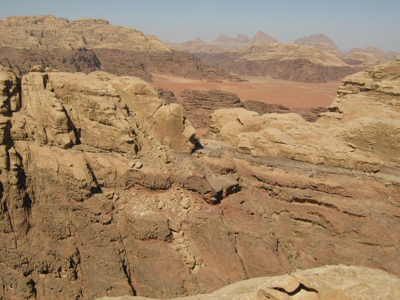 скалолазание в Вади Рам
