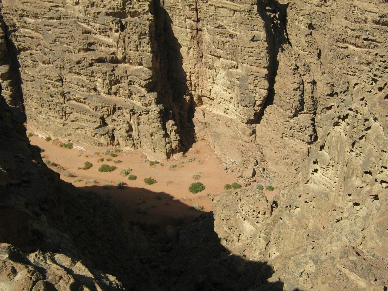 Каньоны в Вади Рам