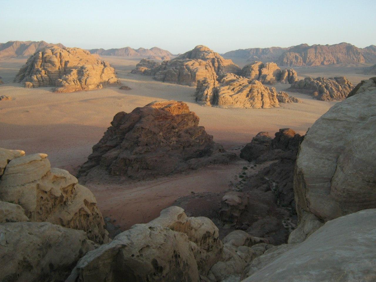 Вади Рам - место встречи красной и белой пустынь