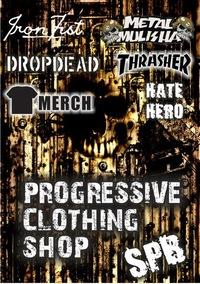 MERCH / DROP DEAD / THRASHER / METAL MULISHA