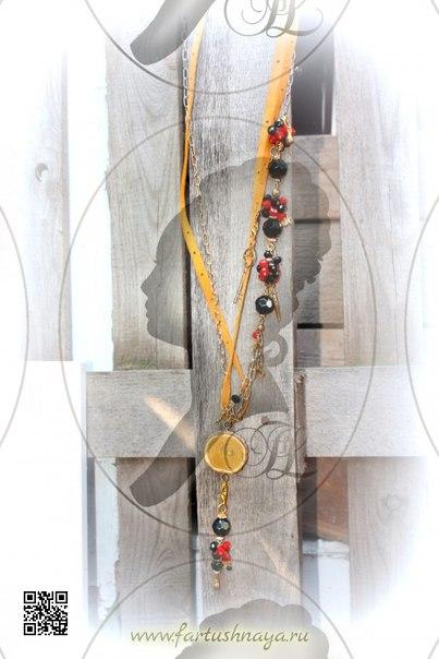 Дизайнерские сотуары и колье Fartushnaya
