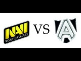 Navi vs Alliance #1 - @Adekvat & AA - Dota 2 The Summit 3