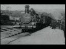 Прибытие поезда на вокзал Ла-Сьота братьев Люмьер