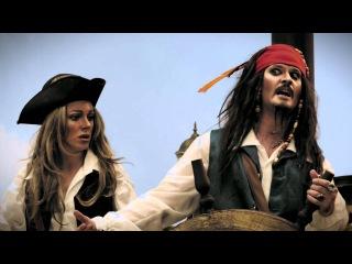Супергерои. Пираты Карибского моря. Женщина на корабле.