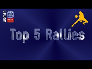 Stars in Motion: Top 5 Most Amazing Rallies - Volleyball Champions League Women - Leg 6