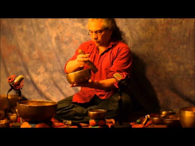 Тибетские поющие чаши~70 minute~7 Chakra Continuous Meditation with 21 Antique Tibetan Singing Bowls