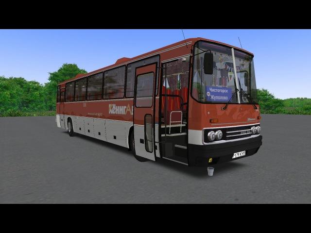 OMSI 2 | Ikarus 250.59 with YaMZ 238-M2 | Чистогорск v0.8 | Маршрут 158