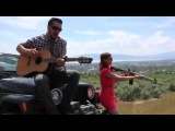 GUN MASHUP - Heartbeat Song The Middle - JIM HUISH (Kelly Clarkson cover feat. Brittany Blaire)