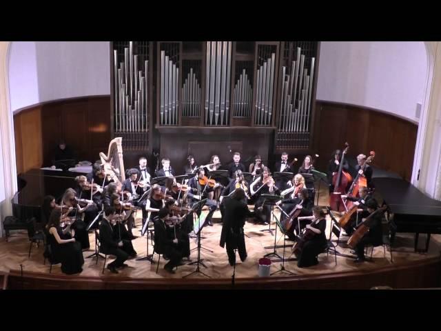 Г. МАЛЕР - Blumine Камерный оркестр Московской консерватории Дирижер –Феликс Коробов