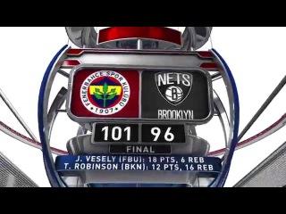 World Tour 2015 Highlights: Brooklyn Nets-Fenerbahce Istanbul 96-101