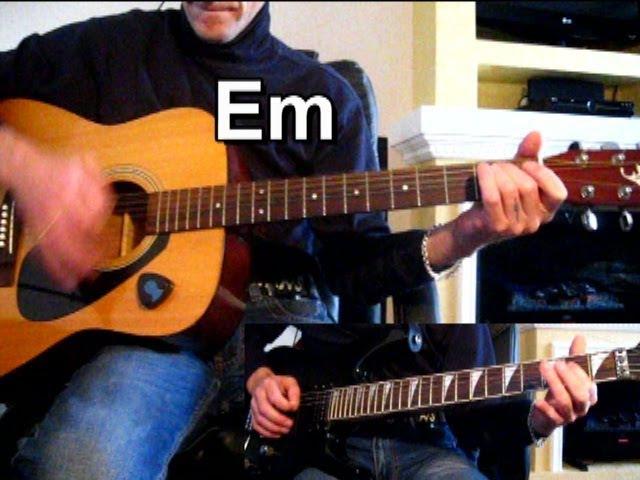 ДДТ — В последнюю осень (СОЛО) Тональность ( Еm ) Как играть на гитаре