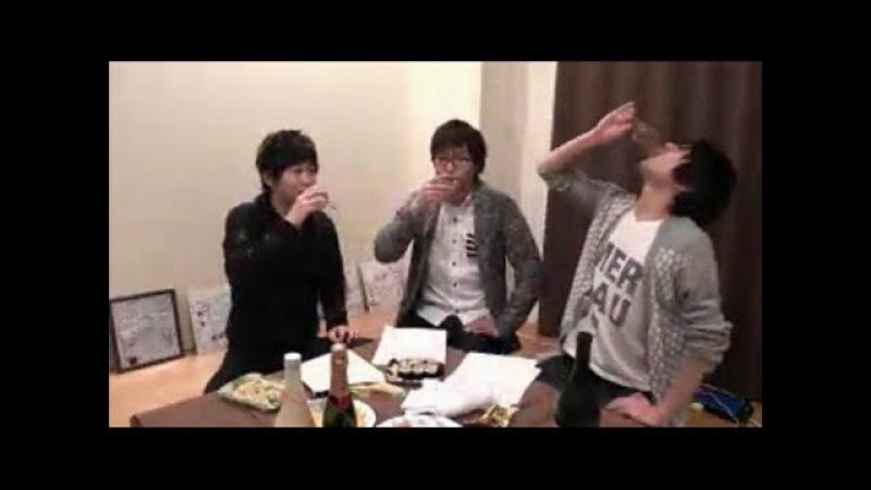 Drunk Hanae Natsuki (with Osaka Ryouta, and Taishi Murata) [ENG]
